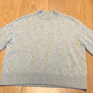 Everlane cropped cashmere sweater